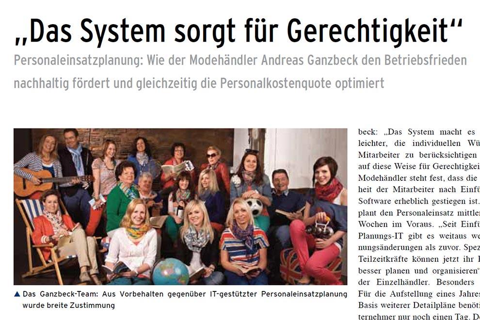 Gerechte Einsatzplanung bei Ganzbeck | SEAK Software GmbH