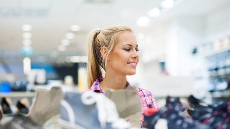 Zusatzverkäufe im Schuhhandel