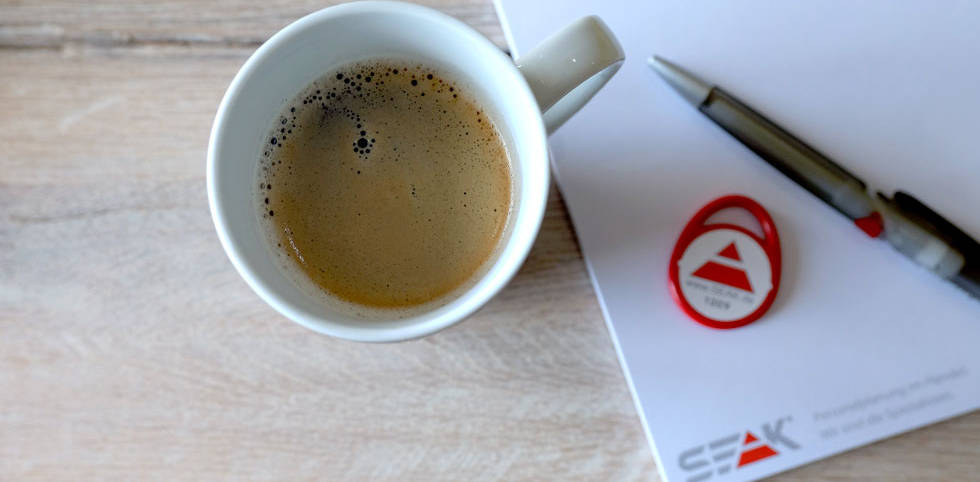 Arbeiten bei SEAK - Kaffee