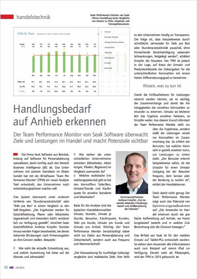 Performance Management | SEAK Software GmbH