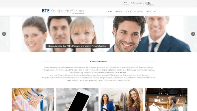 Neue Website BTE Kompetenzpartner