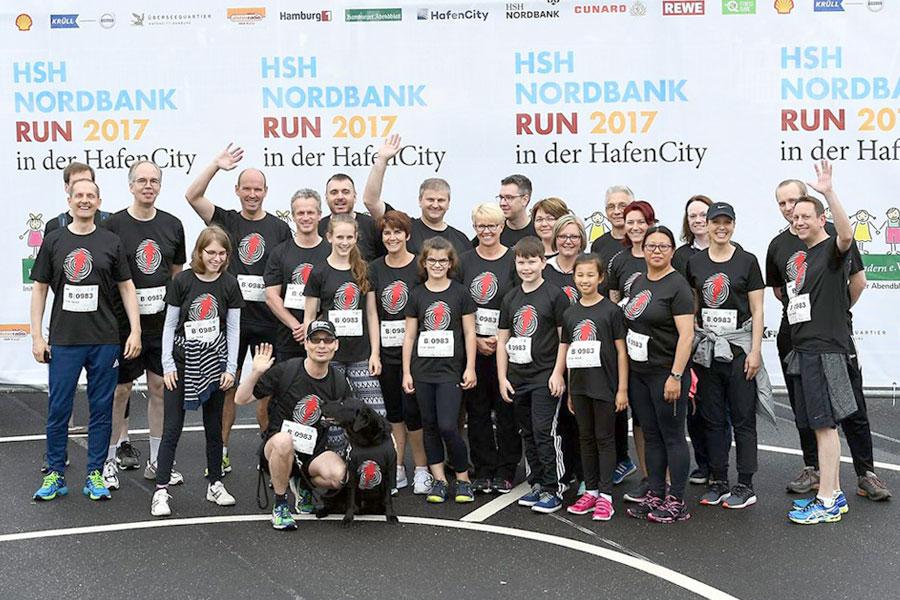 SEAK-Team beim HSH-Nordbank-Run 2017