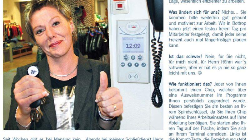 Mensing-Zeitschrift Herzblatt   SEAK Software GmbH