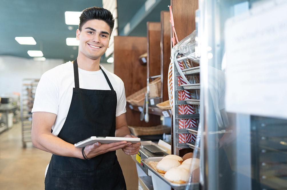 SEAK in Bäckereien